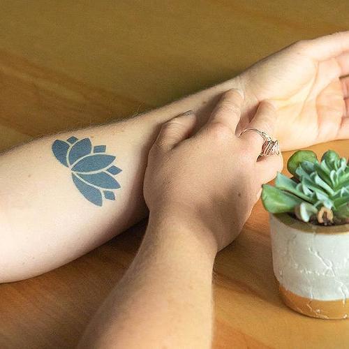 Flor De Loto Tattoo Inkbox