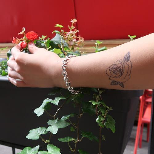Floryn by inkbox is a Flowers temporary tattoo from inkbox - 0