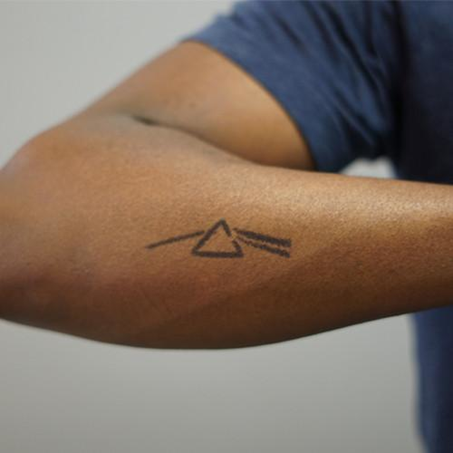 Floyd by inkbox is a Geometric temporary tattoo from inkbox - 1