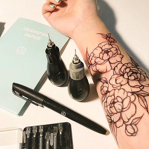 Freehand Pro Kit by inkbox tattoos is a  temporary tattoo from inkbox - 4