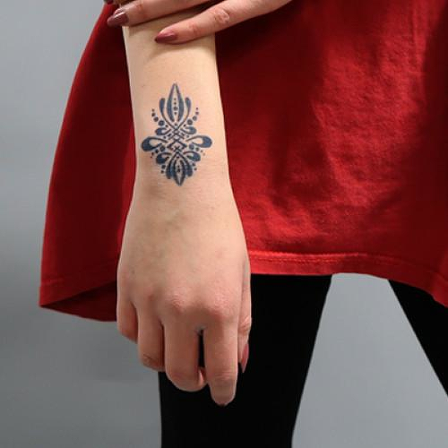 Fril by Karlee Porter is a Spiritual temporary tattoo from inkbox - 1