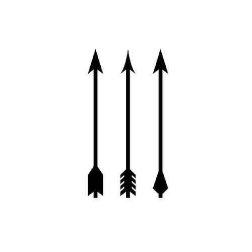 Frisson by Inkbox is a Arrows temporary tattoo from inkbox - 1