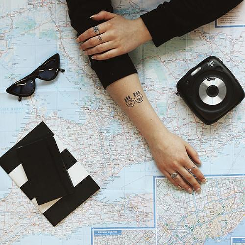 Gallivant by Hillary Degenkolb is a Nature temporary tattoo from inkbox - 0