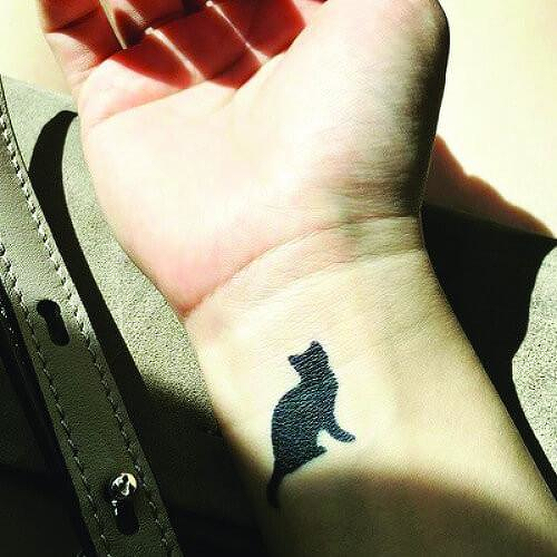 Gato by inkbox is a Animals temporary tattoo from inkbox - 3