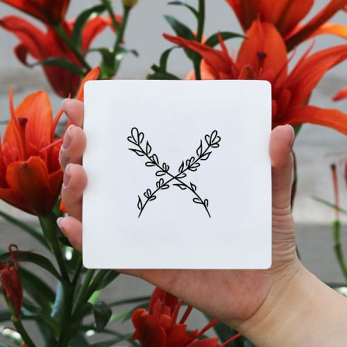 Grana by Xixi Wang is a Flowers temporary tattoo from inkbox - 0