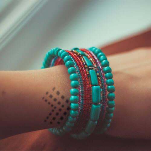 Guanxi by inkbox is a Geometric temporary tattoo from inkbox - 1