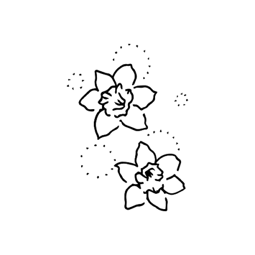 Halcy by Britney Olivares is a Flowers temporary tattoo from inkbox - 1