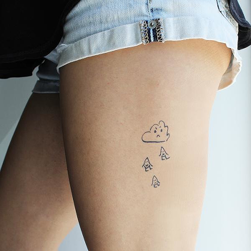 Hartley by inkbox is a Nature temporary tattoo from inkbox - 0