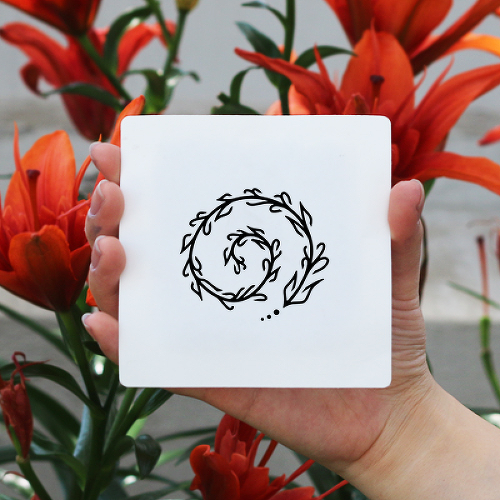 Helix by Xixi Wang is a Flowers temporary tattoo from inkbox - 0