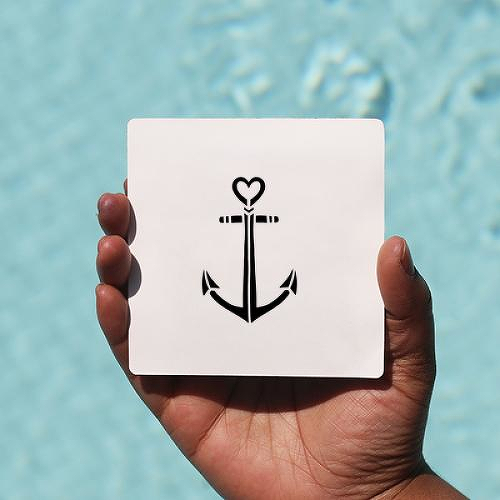 Herreshoff by Sarah Skrlj is a Hearts temporary tattoo from inkbox - 0