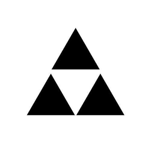Hyrule by inkbox tattoos is a Geometric temporary tattoo from inkbox - 1