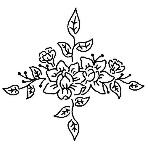 Inflorescence by Louise Z. L. is a Flowers temporary tattoo from inkbox - 2