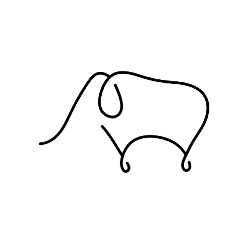 Ivory by Garreth Chan is a Animals temporary tattoo from inkbox - 1