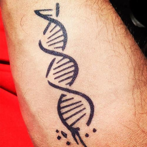 Ixo by Jenna Fullerton is a Science temporary tattoo from inkbox - 1