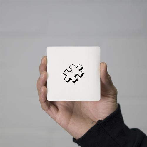 Jigsaw by Tara B is a Minimal temporary tattoo from inkbox - 0