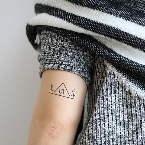 Kandalore by Addison Llanos is a Nature temporary tattoo from inkbox - 2