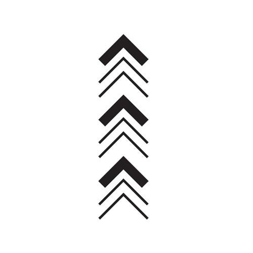 Knossos by inkbox is a Arrows temporary tattoo from inkbox - 3