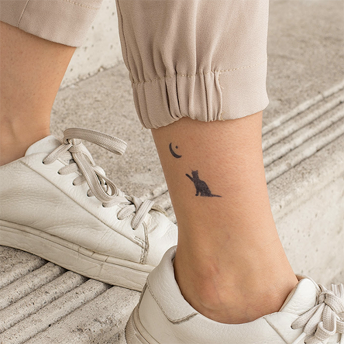 Kotka by inkbox is a Animals temporary tattoo from inkbox - 0