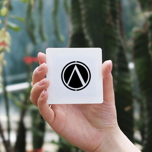 Lambda by Sebastian Eisenberg is a Minimal temporary tattoo from inkbox - 2