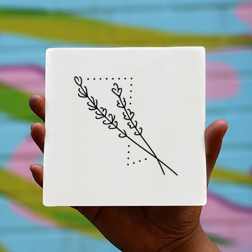 Lavandin by Xixi Wang is a Flowers temporary tattoo from inkbox - 0