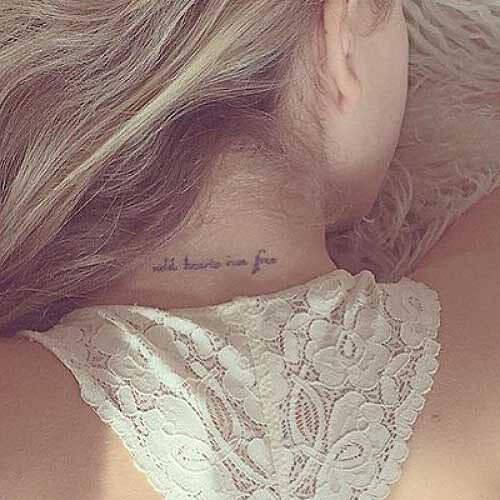 Lilt by inkbox is a Hearts temporary tattoo from inkbox - 0