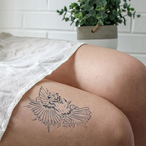 facf4978aefc7 Loa by Olivia-Fayne is a Animals temporary tattoo from inkbox