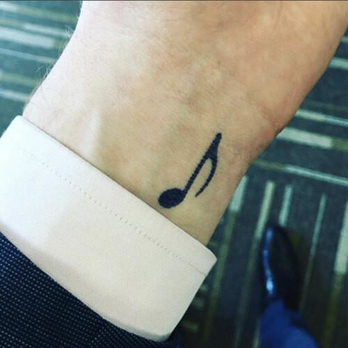 Loma by inkbox is a Music temporary tattoo from inkbox - 1