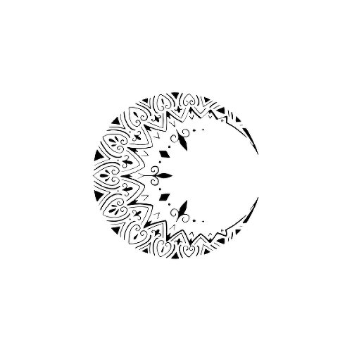 Lunnia by Lenera Solntseva is a Mandalas temporary tattoo from inkbox - 1
