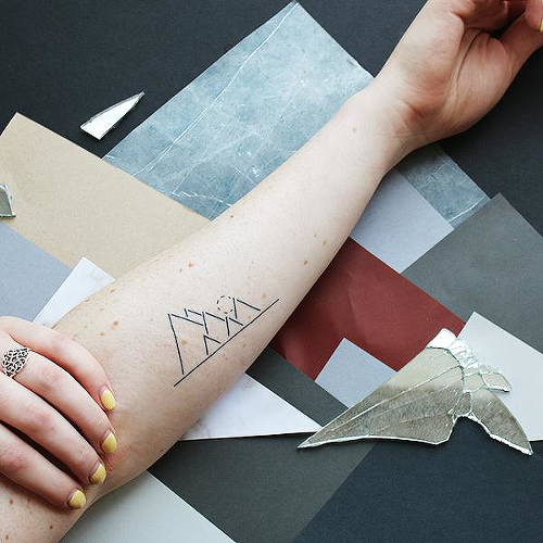 Macera by Okan Uckun is a Geometric temporary tattoo from inkbox - 0