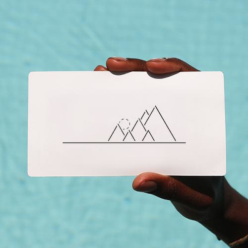 Macera by Okan Uckun is a Geometric temporary tattoo from inkbox - 1