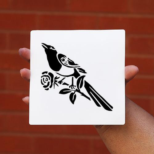 Magpie by Oleg Savchuk is a Animals temporary tattoo from inkbox - 0