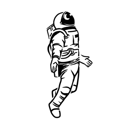 Major Tom by Kristine Vodon is a Space temporary tattoo from inkbox - 8
