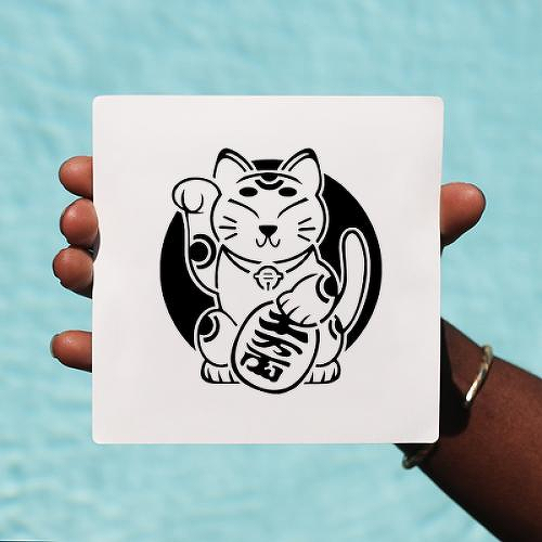 Maneki by Elise is a Animals temporary tattoo from inkbox - 0