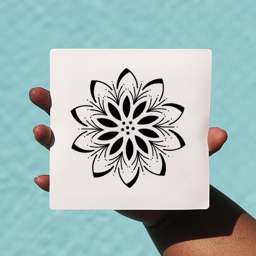 Manoladower by Elvyra Konte is a Flowers temporary tattoo from inkbox - 0