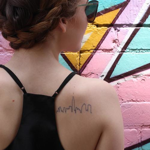 Manzana by inkbox is a Travel temporary tattoo from inkbox - 0