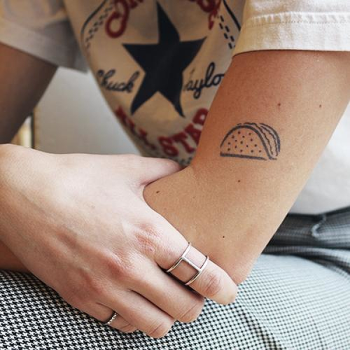 Martes by inkbox is a Food & Drink temporary tattoo from inkbox - 0