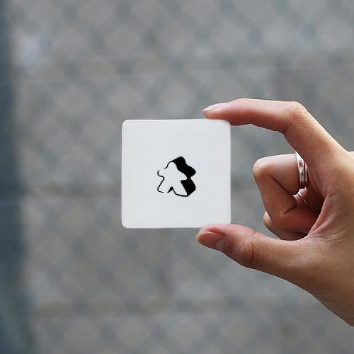 Meeple by Kristine Vodon is a Gaming & Fandom temporary tattoo from inkbox - 0