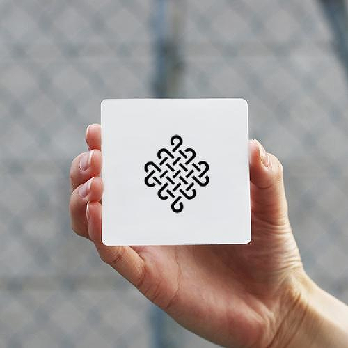 Mesh by Felipe Sena is a Geometric temporary tattoo from inkbox - 0