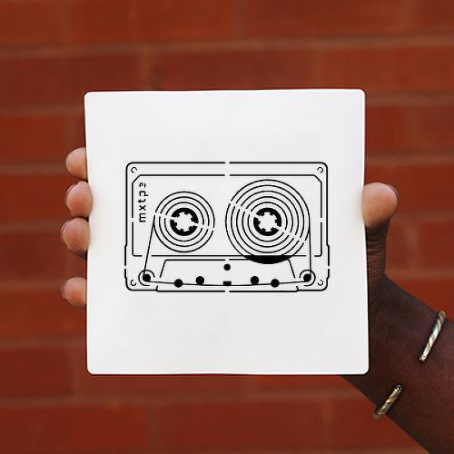 Mixtape by Setsolid is a Minimal temporary tattoo from inkbox - 0