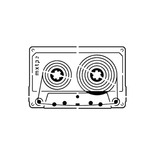 Mixtape by Setsolid is a Minimal temporary tattoo from inkbox - 1
