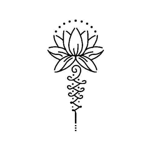 by  is a  temporary tattoo from inkbox - 1