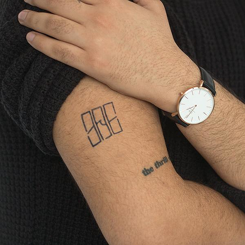 Moses by Garreth Chan is a Geometric temporary tattoo from inkbox - 0