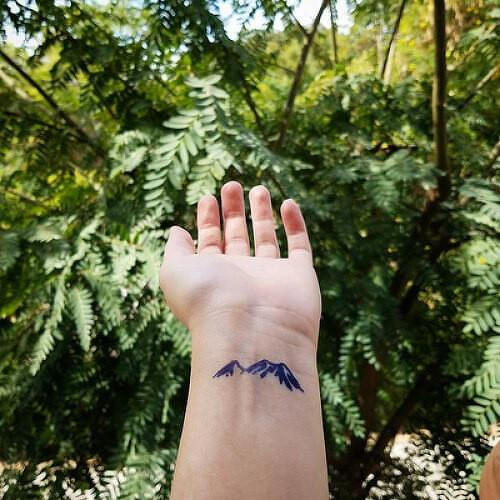 Mtn. Tiza by inkbox is a Nature temporary tattoo from inkbox - 1