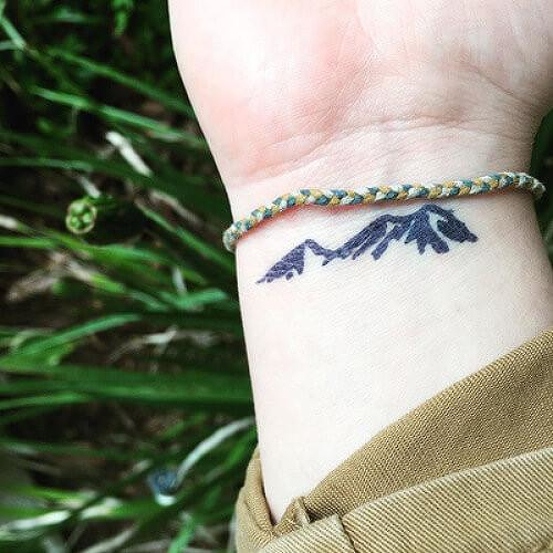 Mtn. Tiza by inkbox is a Nature temporary tattoo from inkbox - 4