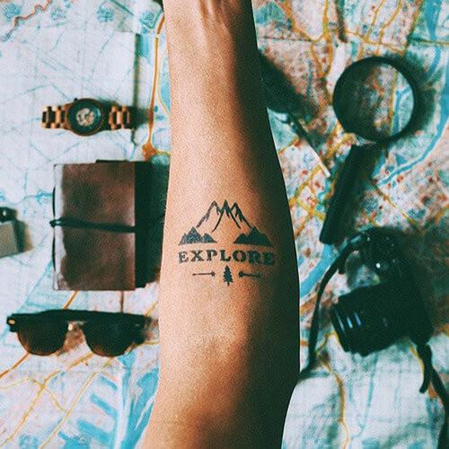 Muir by inkbox is a Nature temporary tattoo from inkbox - 1