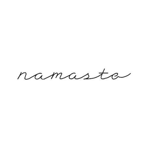 Namaskar by inkbox is a Words temporary tattoo from inkbox - 3