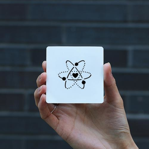 Neutron by Gabriella Yoo is a Hearts temporary tattoo from inkbox - 0