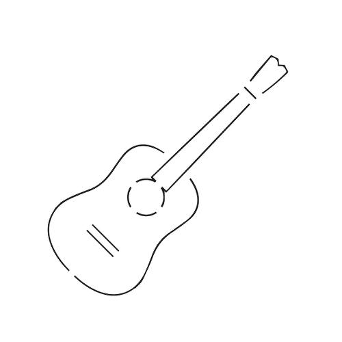 Semi Permanent Guitar Tattoos Inkbox