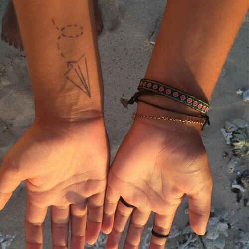 Papel by inkbox is a Travel temporary tattoo from inkbox - 4