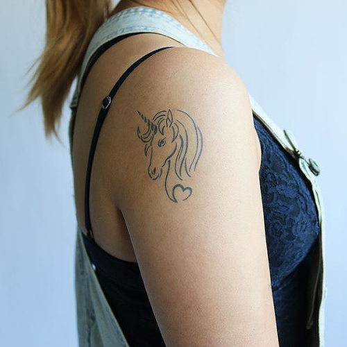 Pegasus by Lenera Solntseva is a Animals temporary tattoo from inkbox - 0